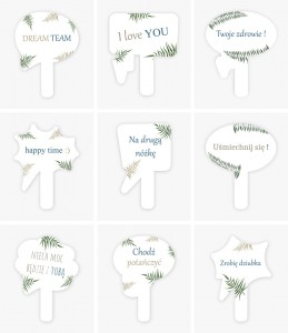 Speech bubbles for birthdays or bachelor parties - 15 pieces