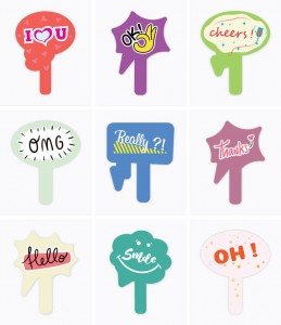 Wedding speech bubbles - 15 pieces (1)