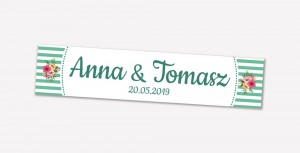 Personalised licence plate - design 04